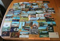 Lot of Old Postcards US Landmarks Travel 1940s-1980s Used with stamps Vintage