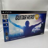 Guitar Hero Live Bundle (Sony PlayStation 3, 2015)