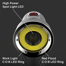 Nebo 6437 Cryket 3-in-1 Work Light Spot Flood Light Swivel Head Magnetic Base