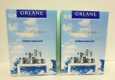 Lot of 2 ORLANE PARIS - B21 THALASSOTHERAPY - COFFRET WEEK-END NEW & BOXED