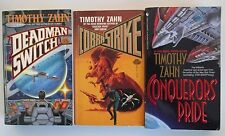 1986/94 Timothy Zahn  Science Fiction Lot of 3 paperbacks VF/VF- Baen Bantam