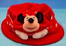 Walt Disney World PLUSH Minnie Mouse Hat Youth Girls VINTAGE