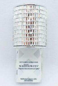 1 Bath & Body Works MIRRORED GEMS Topper Wallflower Unit Plug In Diffuser Holder