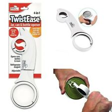 Handy Gourmet Twistease Jar, Can, Bottle Opener - Great For Arthritis Peoples