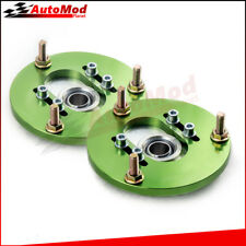 Front Pair Coilover Pillowball Camber Plates Top Mounts for BMW E36 3 Series new