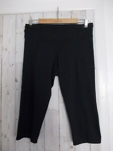 Womens cropped fitness pants, M&S, size 16.