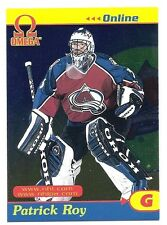 Patrick Roy, 1998-99 Pacific Omega Online Card, # 9, Colorado Avalanche