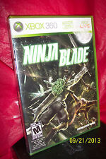 Ninja Blade  (Xbox 360, 2009) BRAND NEW FACTORY SEALED