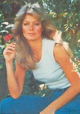 1977 Pro Arts Farrah Fawcett Farrah Flower classic  vintage wall poster NOS