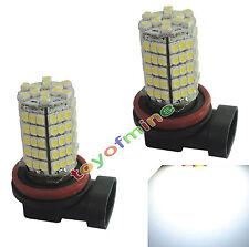 2x coche H11 12V 102 LED SMD Niebla Aparcamiento Jefe Bulb lámpara de luz