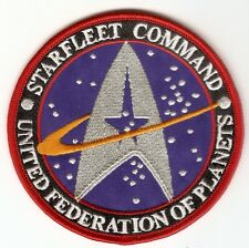 + STAR TREK Aufnäher/Patch  STARFLEET COMMAND UFP
