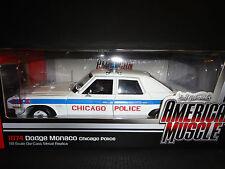 Auto World Dodge Monaco Chicago Police 1974 1/18