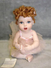 Lucille Ball I LOVE LUCY FRANKLIN MINT BALLET BABY DOLL - VERY RARE