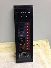 Samsung Microwave Oven Control Panel with Circuit Board for RE-610TC