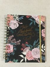 2020 Floral Calendar Planner Journal New