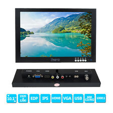 "10"" IPS EDP HD 1920*1200 VGA Video HDMI Monitor for CCTV,Lab Desktop Display  H1"