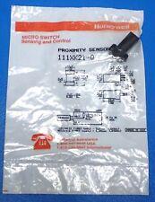 HONEYWELL MICRO SWITCH 111XK21-Q PROXIMITY SENSOR 3.17mm RANGE, 3-WIRE DC, NEW!