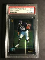 1998 Bowman Chrome Randy Moss rookie. PSA 10 Gem Mint