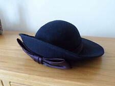 Principles Wedding hat, navy/satin bow ,Mother of the bride,Races,Ascot hat,