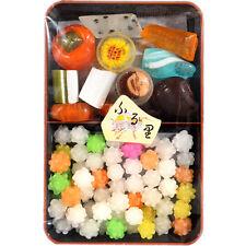 Japan Konpeito Sugar Plum Candy Deluxe Tray Set 100g - Village Harvest