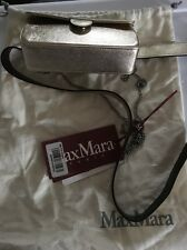"Max Mara Studio Gold ""orlo"" Textured Belt Bag Medium New"