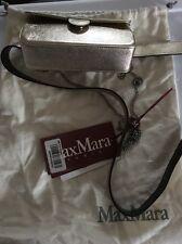 "Max Mara Studio Gold ""orlo"" Textured Belt Bag Medium New"