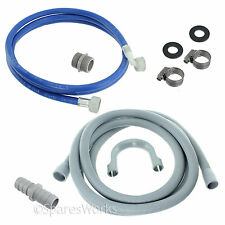Fill Water Pipe & Outlet Drain Hose For John Lewis Dishwasher Extension Kit