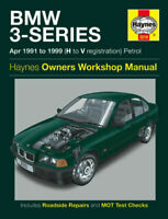 3210 HAYNES OWNERS WORKSHOP MANUAL BMW 3-SERIES 1991-1999 (H TO V REG)  PETROL