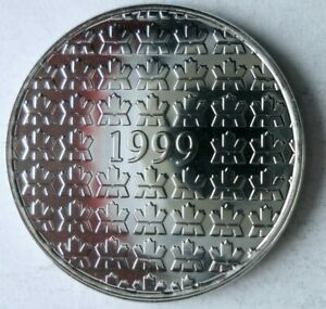 1999 CANADA 25 CENTS - MILLENIUM - PROOF LIKE - Cool Coin - Lot #J5