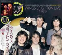 PAUL McCARTNEY / WINGS BRIGHTON LIVE 1979 1CD Audience CONFERENCE CENTRE
