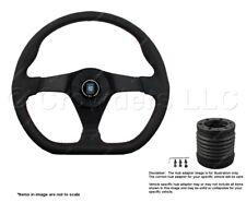 Nardi Gara Sport 350mm Steering Wheel + MOMO Hub for Honda 6040.35.2092 + 4911