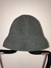 kangol grey wool hat size regular