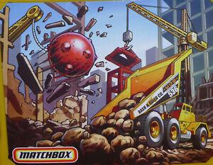 Matchbox ~ Construction Pop-Up Folding Playset