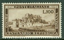 ITALY : 1949. Sassone #600 Very Fine, Mint Original Gum VLH. Catalog €170.00.