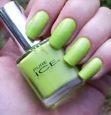 NEW! PURE ICE Nail Polish Lacquer WILD THING ~ Lime Green crème