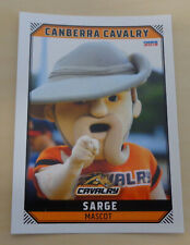 Sarge mascot 2018/19 Australian Baseball League card - Canberra Cavalry