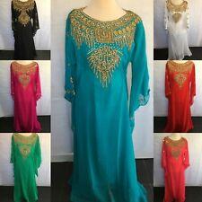 *NEW* J56 Dubai Kaftan Farasha Jalabiya Abaya Maxi Dress Butterfly in 4 Colours