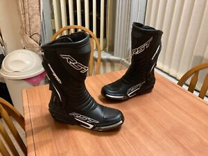 RST Tractech Evo III 3 Motorcycle Sports Race Boots CE Size UK 9.5 - 10 EU44 VGC