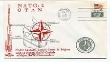 1971 NATO 2 SATCOM Control Center in Belgium Link 15 Nation Capitals Space Cover