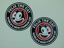 2x FELIX Aufkleber Comic Cat Oldschool Tuning Auto Sticker Rockabilly V8 MG305