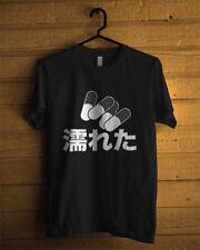 T-Shirt Akira Pill Good For Health Stars Tee for Men or Women Manga