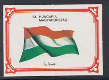 Monty Gum 1980 Flags Cards - Card No 54 - Hungaria - Hungary (T652)
