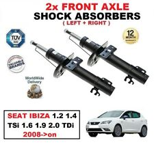 2x eje delantero Amortiguadores Para Seat Ibiza 1.2 1.4 TSI 1.6 1.9 2.0 TDI