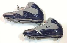 Nike Football Cleats Blue Gray Mens Size 14 Zoom Merciless New