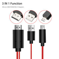 MHL Micro USB to HDMI Adapter Converter Cable for Android Samsung Phone HD TV