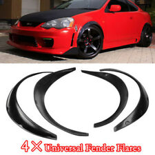 4x Universal Car Wheel PU Fender Flares Cover Wide body wheel arches Durable Kit