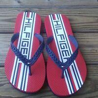 Tommy Hilfiger Tommy Navy Red Blue Flip Flop Sandals 12M