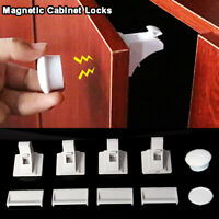 5/10pcs Baby Safety Magnetic Cabinet Locks Invisible Child Proof Cupboard Drawer