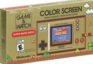 Super Mario Bros Game And Watch Nintendo Handheld Brand New Ships Today!