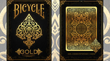 Bicycle Gold Deck Playing Cards by USPCC Eureka Magic Murphy's Magic Poker